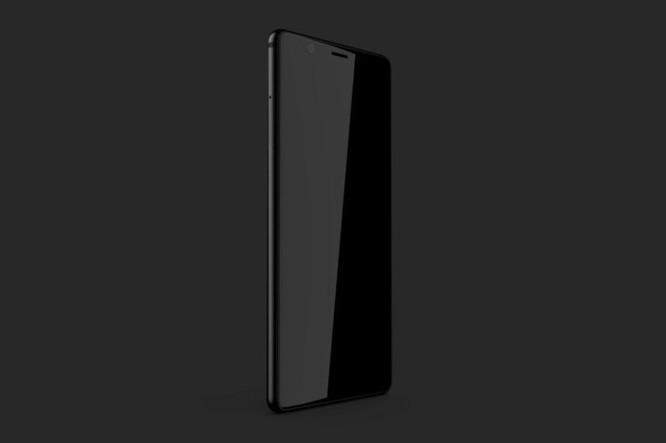 BlackBerry Ghost: smartphone Android cao cấp không viền màn hình dành cho thị trường Ấn Độ - Ảnh 1
