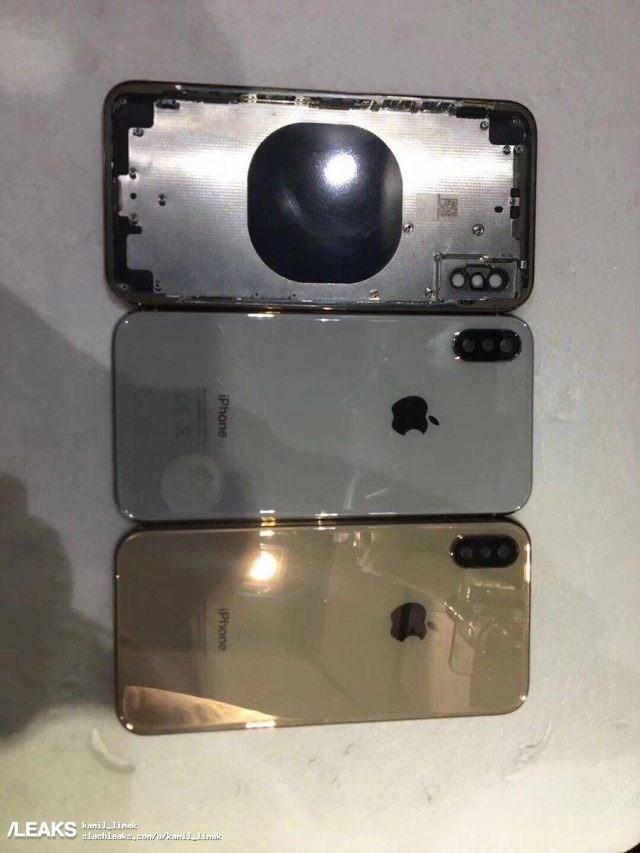 Rò rỉ hình ảnh iPhone X phiên bản màu vàng 'sanh chảnh' - Ảnh 2