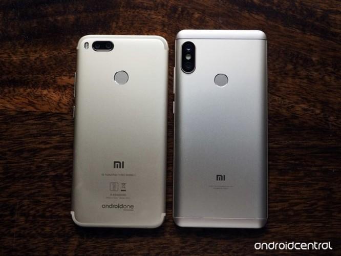 So sánh Xiaomi Redmi Note 5 Pro và Mi A1: Khi MIUI đối đầu Android One - Ảnh 2