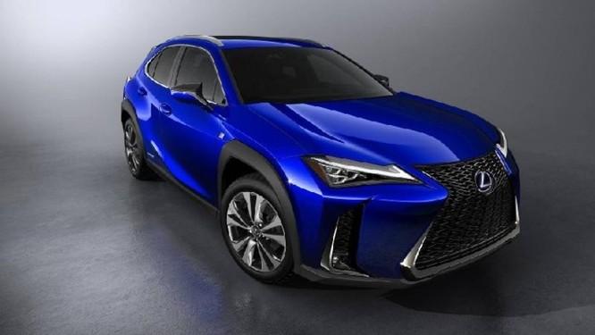 Lexus UX 2019 lộ diện với kiểu dáng 'hợp mốt' đô thị đông đúc - Ảnh 2
