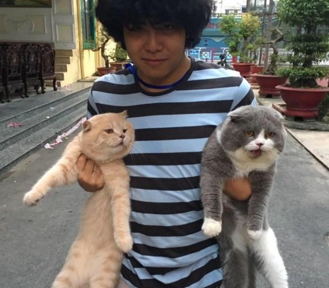 Chú mèo tên Chó ở Hải Phòng gây sốt trên Internet vì 'thần thái' quá dễ thương - Ảnh 3