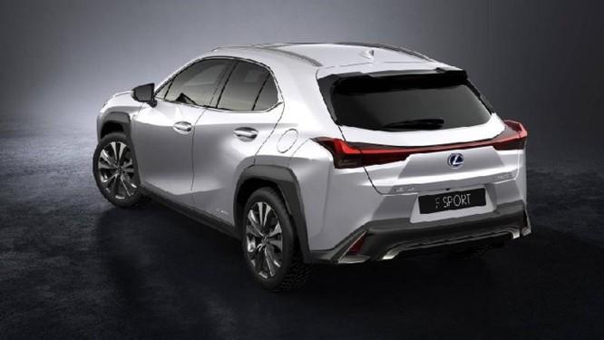 Lexus UX 2019 lộ diện với kiểu dáng 'hợp mốt' đô thị đông đúc - Ảnh 5