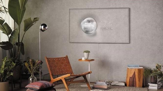 TV QLED mới của Samsung có thiết kế gần như vô hình - Ảnh 1