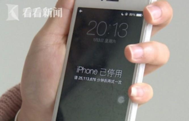 Nhập sai mật khẩu iPhone quá nhiều lần và cái kết bị khóa tới 47 năm - Ảnh 1