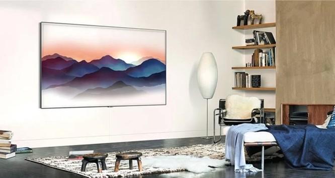 TV QLED mới của Samsung có thiết kế gần như vô hình - Ảnh 3