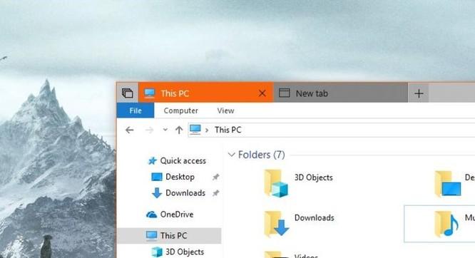 Microsoft cuối cùng đã mang 'tab' lên File Explorer - Ảnh 1