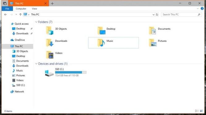 Microsoft cuối cùng đã mang 'tab' lên File Explorer - Ảnh 2