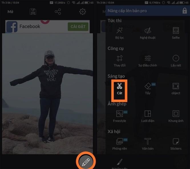 Hướng dẫn tách ghép ảnh trên điện thoại như Photoshop - Ảnh 2