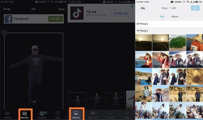 Hướng dẫn tách ghép ảnh trên điện thoại như Photoshop - Ảnh 6