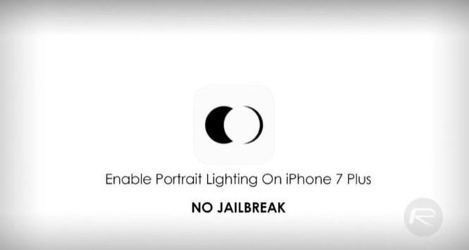Ứng dụng giúp mang Portrait Lightning lên iPhone 7 Plus không cần jailbreak - Ảnh 1