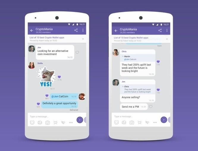 Viber tung dịch vụ chat nhóm, có thể lên đến 1 tỷ thành viên - Ảnh 1