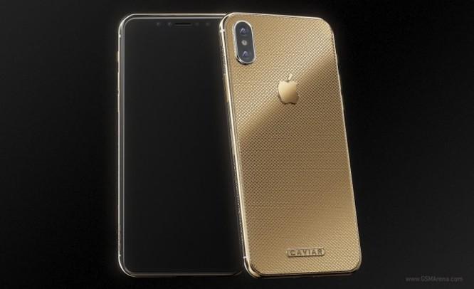 Caviar ra mắt iPhone X mạ vàng ròng, giá hơn 100 triệu - Ảnh 1