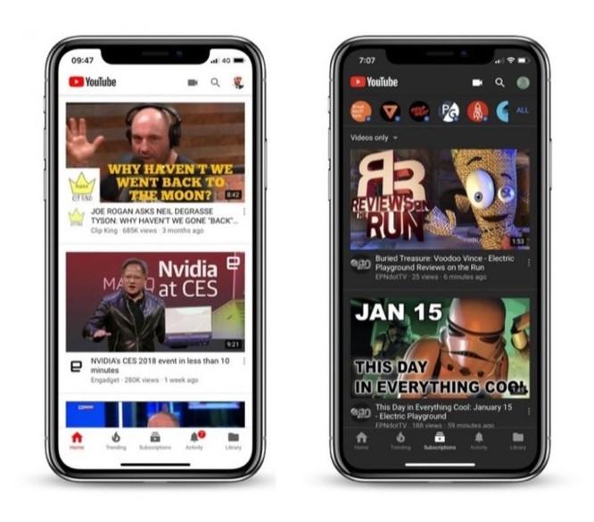 YouTube trên iOS và Android đã hỗ trợ giao diện tối (Dark Mode) - Ảnh 1
