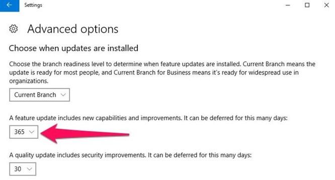 Cách hoãn việc cập nhật Windows 10 Spring Creators Update trong thời gian lên đến 365 ngày - Ảnh 3
