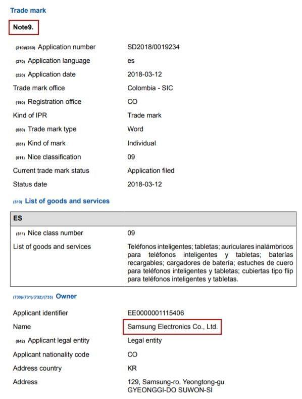 Thông tin đầu tiên về Galaxy Note 9 cuối cùng cũng đã xuất hiện - Ảnh 2