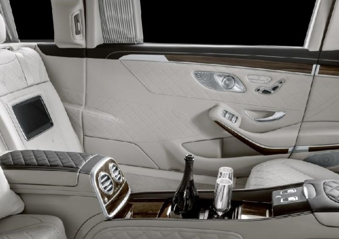 Ngắm Mercedes-Maybach S 650 Pullman 2019 đẳng cấp và mạnh mẽ - Ảnh 8