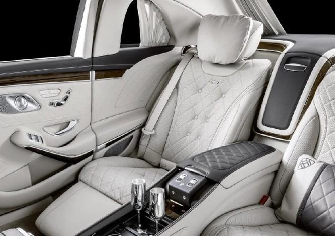 Ngắm Mercedes-Maybach S 650 Pullman 2019 đẳng cấp và mạnh mẽ - Ảnh 9