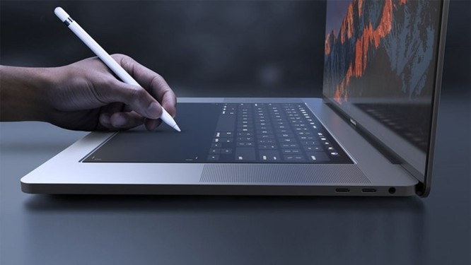 Macbook mới sẽ được trang bị bàn phím cảm ứng có cảm giác bấm như thật? - Ảnh 1