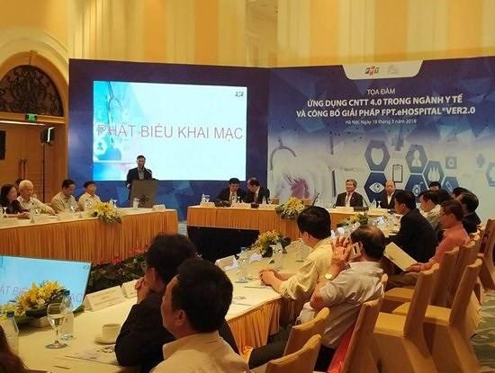 Ra mắt giải pháp quản lý bệnh viện ứng dụng công nghệ 4.0 đầu tiên tại Việt Nam - Ảnh 1