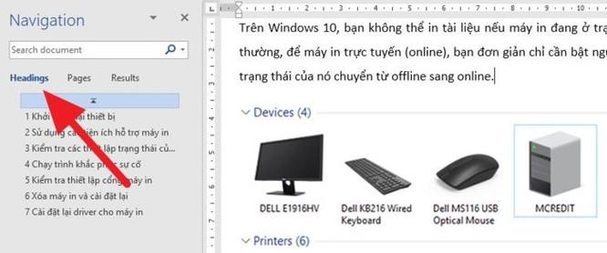 Cách di chuyển các trang trên Microsoft Word - Ảnh 3