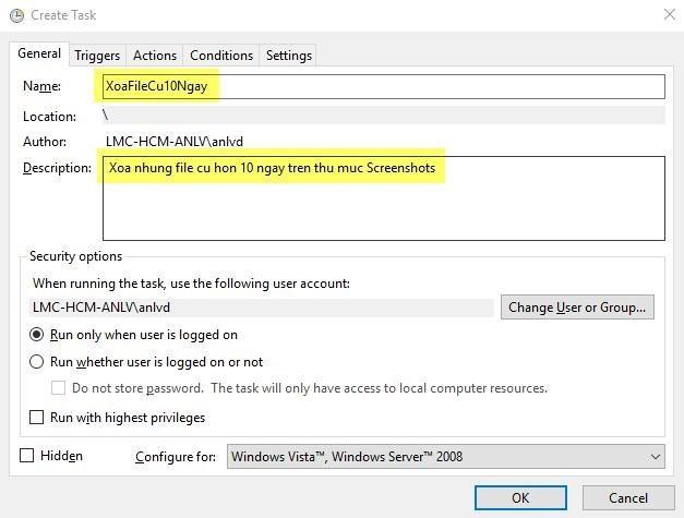 Cách tự động xóa file cũ hơn X ngày trên Windows 10 - Ảnh 4
