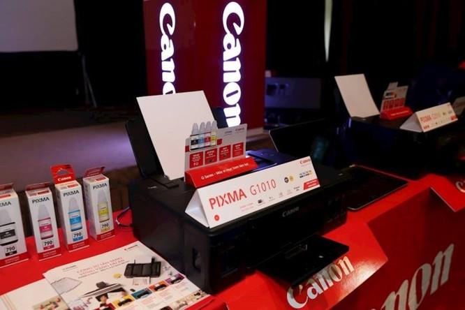 Canon giới thiệu 4 máy in phun dòng G và 2 máy in laser mới - Ảnh 3