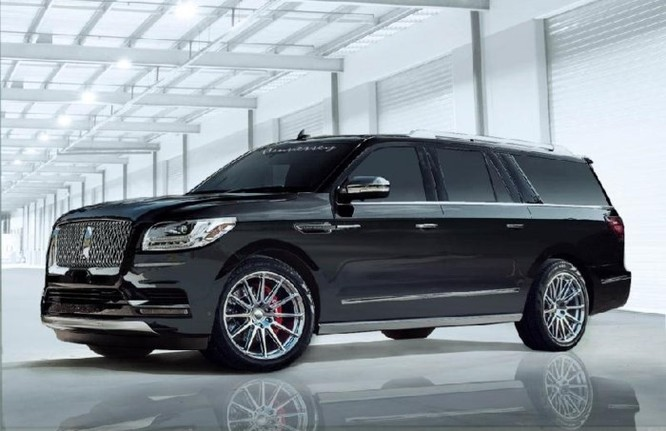 Nâng cấp chiếc SUV cỡ lớn Lincoln Navigator 2018 với sức mạnh mới - Ảnh 1