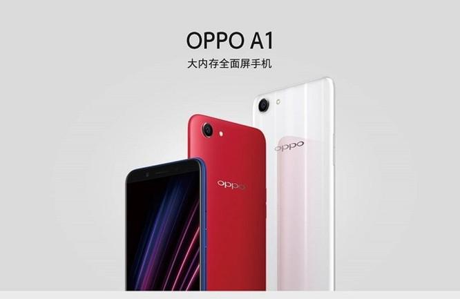 Oppo âm thầm ra mắt chiếc Oppo A1 tại Trung Quốc - Ảnh 1
