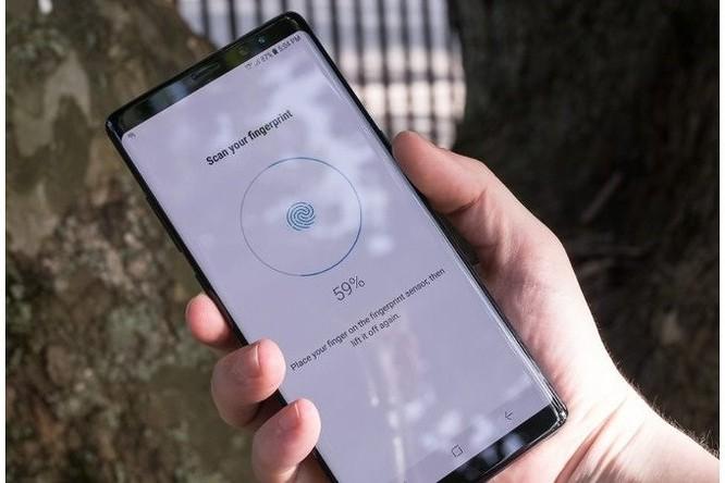 Galaxy Note 9 sẽ có cảm biến vân tay trong màn hình? - Ảnh 1