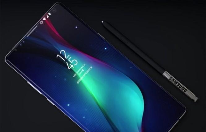 Galaxy Note 9 sẽ có cảm biến vân tay trong màn hình? - Ảnh 2