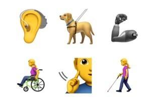 Apple đề xuất 13 emoji mới đại diện cho người khuyết tật - Ảnh 1