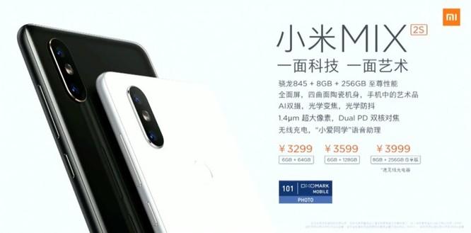 Xiaomi chính thức giới thiệu Mi Mix 2s: Snapdragon 845, camera kép, có sạc không dây nhưng không 'tai thỏ' - Ảnh 6