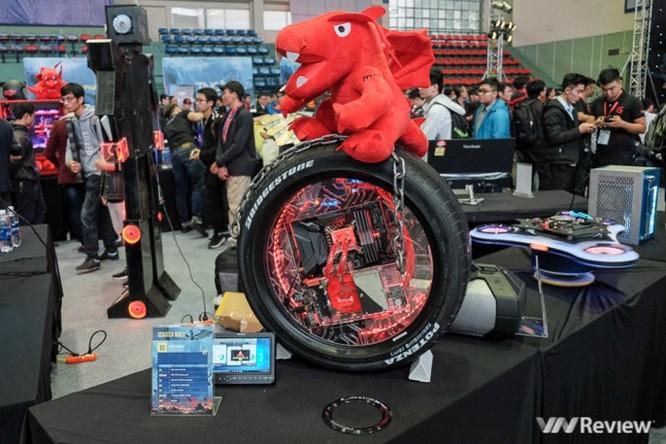 Chiêm ngưỡng máy tính hình rồng, spinner... do dân chơi Việt tự chế - Ảnh 11