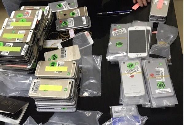 Bắt giữ lô điện thoại trị giá hơn 600 triệu đồng nhập lậu tại Quảng Ninh - Ảnh 1