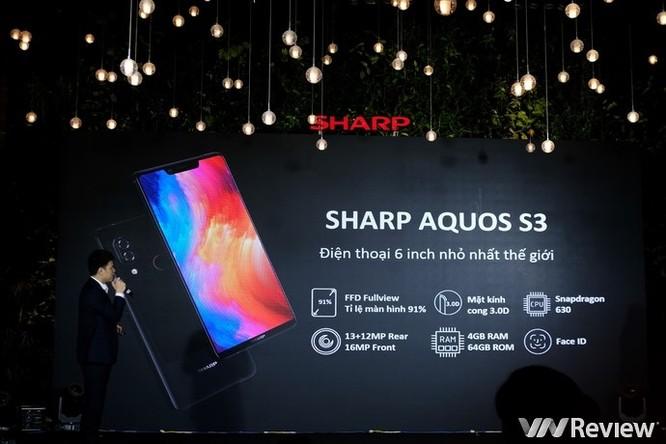Sharp Aquos S3 chính thức ra mắt tại Việt Nam: Thiết kế tai thỏ, giá 9 triệu đồng - Ảnh 6