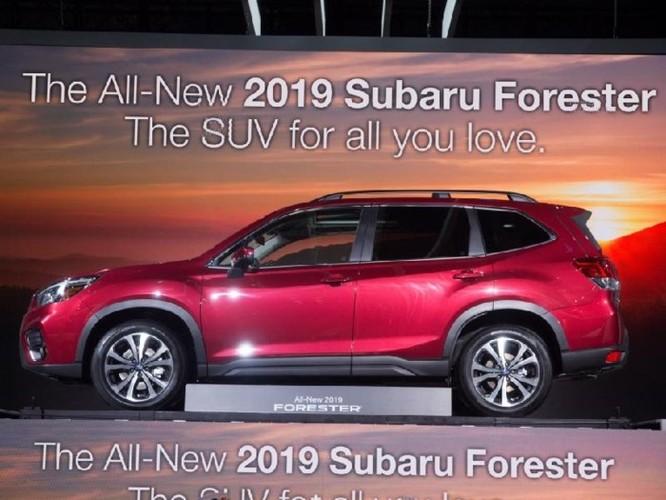 Subaru Forester 2018 lộ diện với 'mắt thần' EyeSight - Ảnh 11