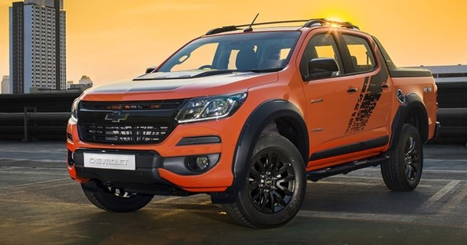 Chevrolet trình làng bán tải Colorado High Country màu cam hoàn toàn mới - Ảnh 1