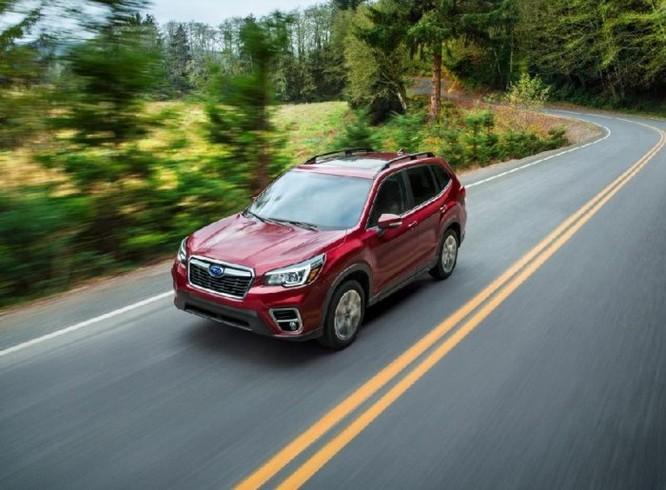 Subaru Forester 2018 lộ diện với 'mắt thần' EyeSight - Ảnh 13