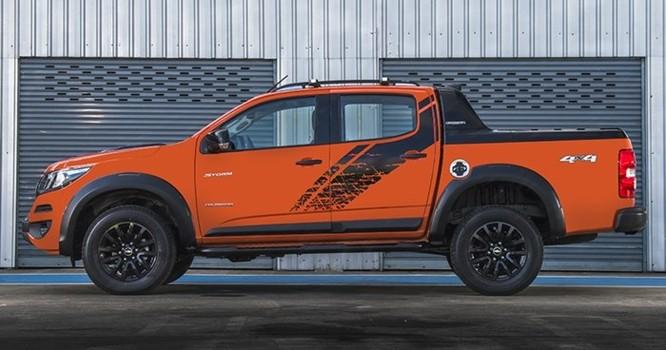 Chevrolet trình làng bán tải Colorado High Country màu cam hoàn toàn mới - Ảnh 3