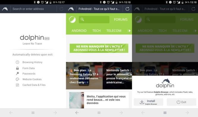 8 trình duyệt Android cực tiện dụng nên tải về - Ảnh 4