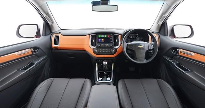 Chevrolet trình làng bán tải Colorado High Country màu cam hoàn toàn mới - Ảnh 5