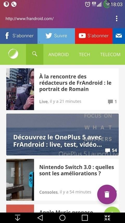 8 trình duyệt Android cực tiện dụng nên tải về - Ảnh 6