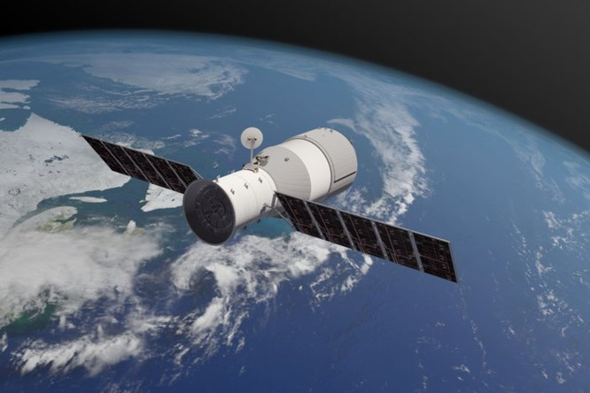 Trạm vũ trụ Thiên Cung 1 của Trung Quốc đã rơi xuống Thái Bình Dương - Ảnh 1