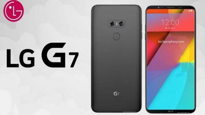 RÒ RỈ: Hình ảnh chi tiết thiết kế của LG G7 - Ảnh 1