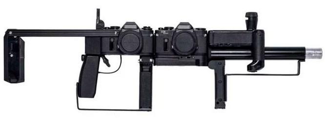 Dạo quanh bảo tàng vũ khí được làm từ máy ảnh và ống kính - Ảnh 16