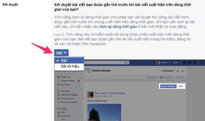 Cách chặn người khác tag trên Facebook - Ảnh 4