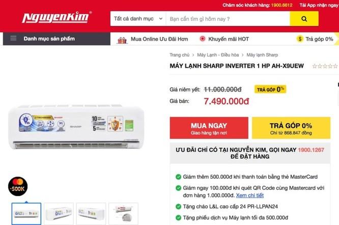 Loạn giá máy lạnh rao bán trên mạng ảnh 1