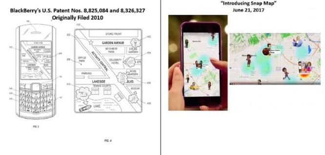 Sau Facebook, BlackBerry tiếp tục kiện Snap về bằng sáng chế bản đồ và tin nhắn ảnh 2