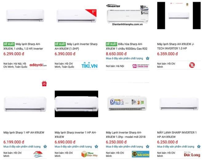 Loạn giá máy lạnh rao bán trên mạng ảnh 3