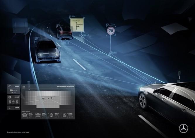 Mercedes-Maybach với Digital Light 'vẽ' được những gì lên mặt đường? ảnh 1